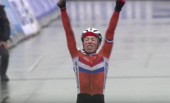 Jens Dekker campione del mondo Juniores Ciclocross