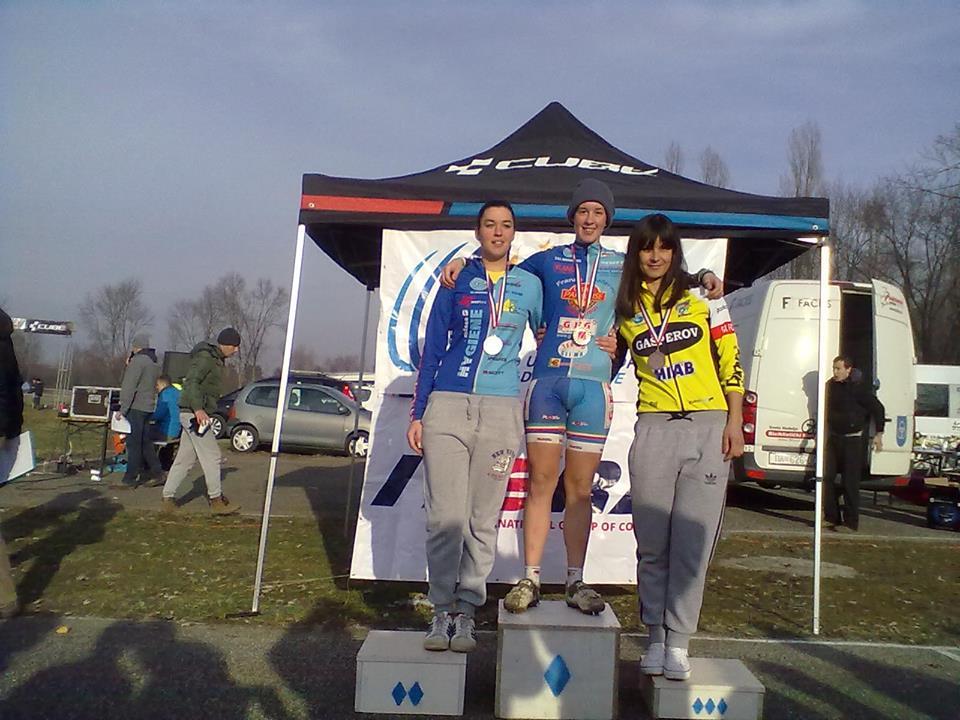 Gloria Musa campionessa di Croazia ciclocross