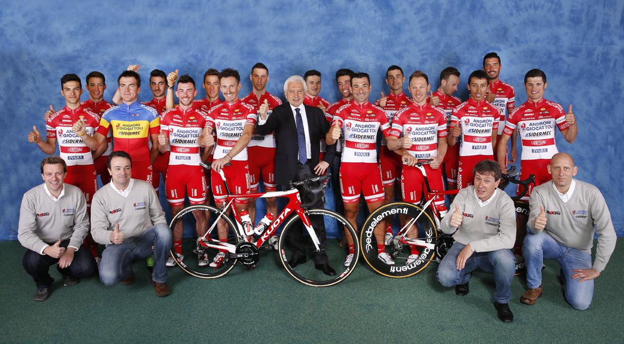 Il Team Androni - Sidermec 2016