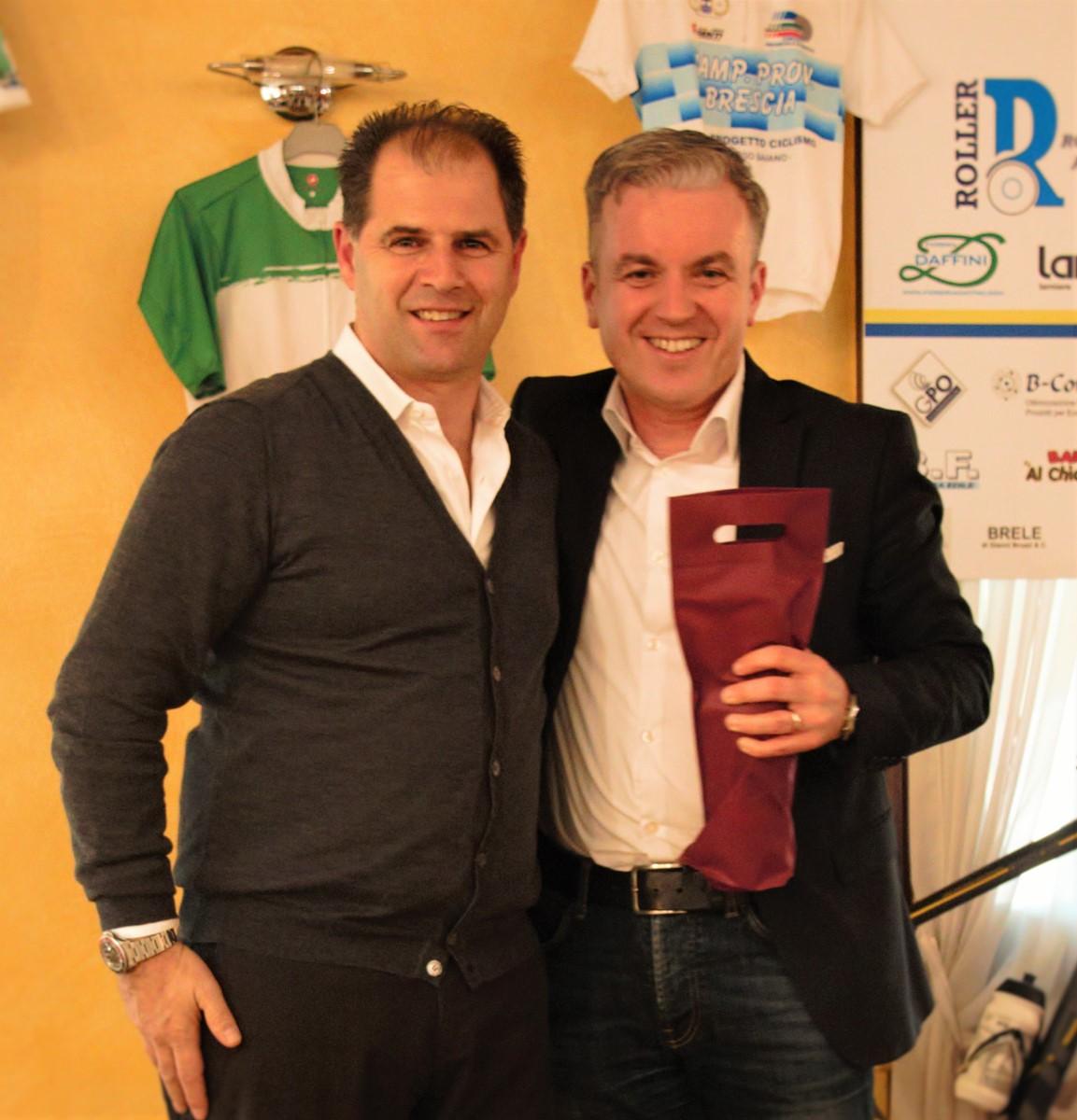 Fabrizio Bontempi ed Ezio Maffi