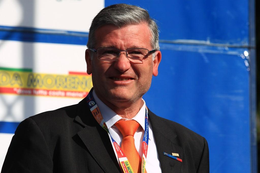 Mario Minervino, responsabile dell'organizzazione del Trofeo Binda