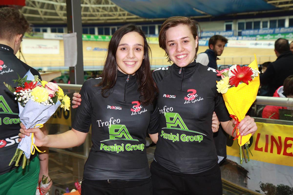 Giulia Affaticati e Silvia Zanardi vincitrici tra le ragazze della Tre Sere del Garda