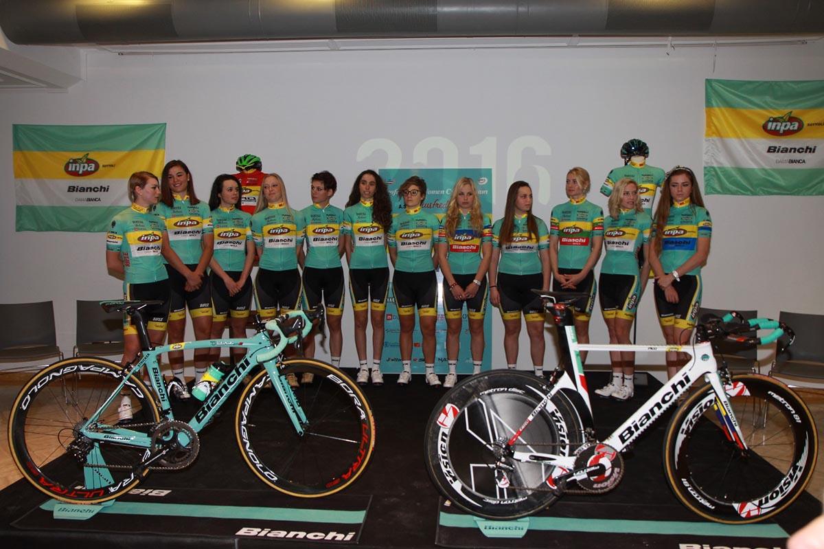 Team Inpa Bianchi Giusfredi, la squadra 2016