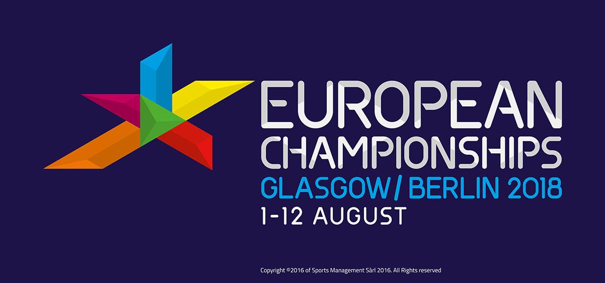 Logo Campionati d'Europa 2018
