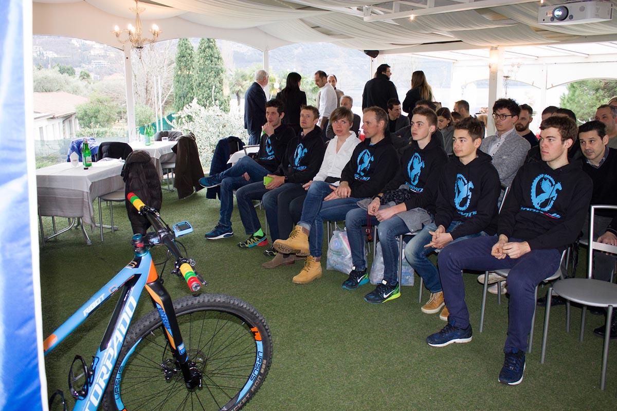 Un momento della presentazione del Torpado Factory Team 2016