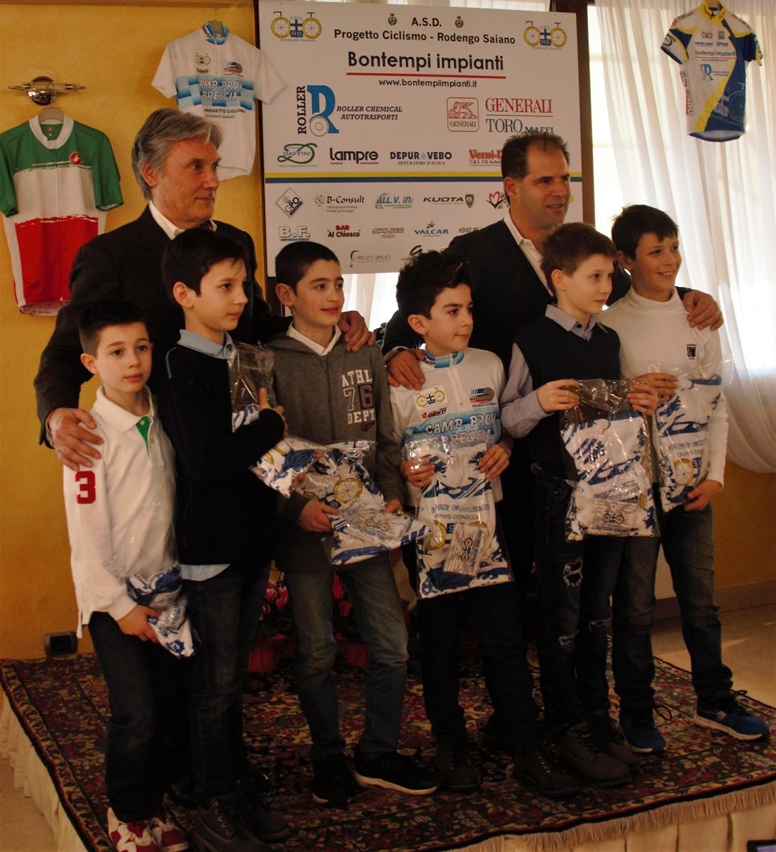 Saronni premia i Giovanissimi G4