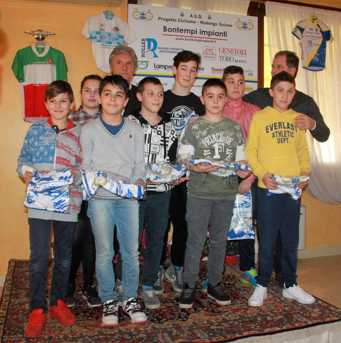 Saronni premia i Giovanissimi G6