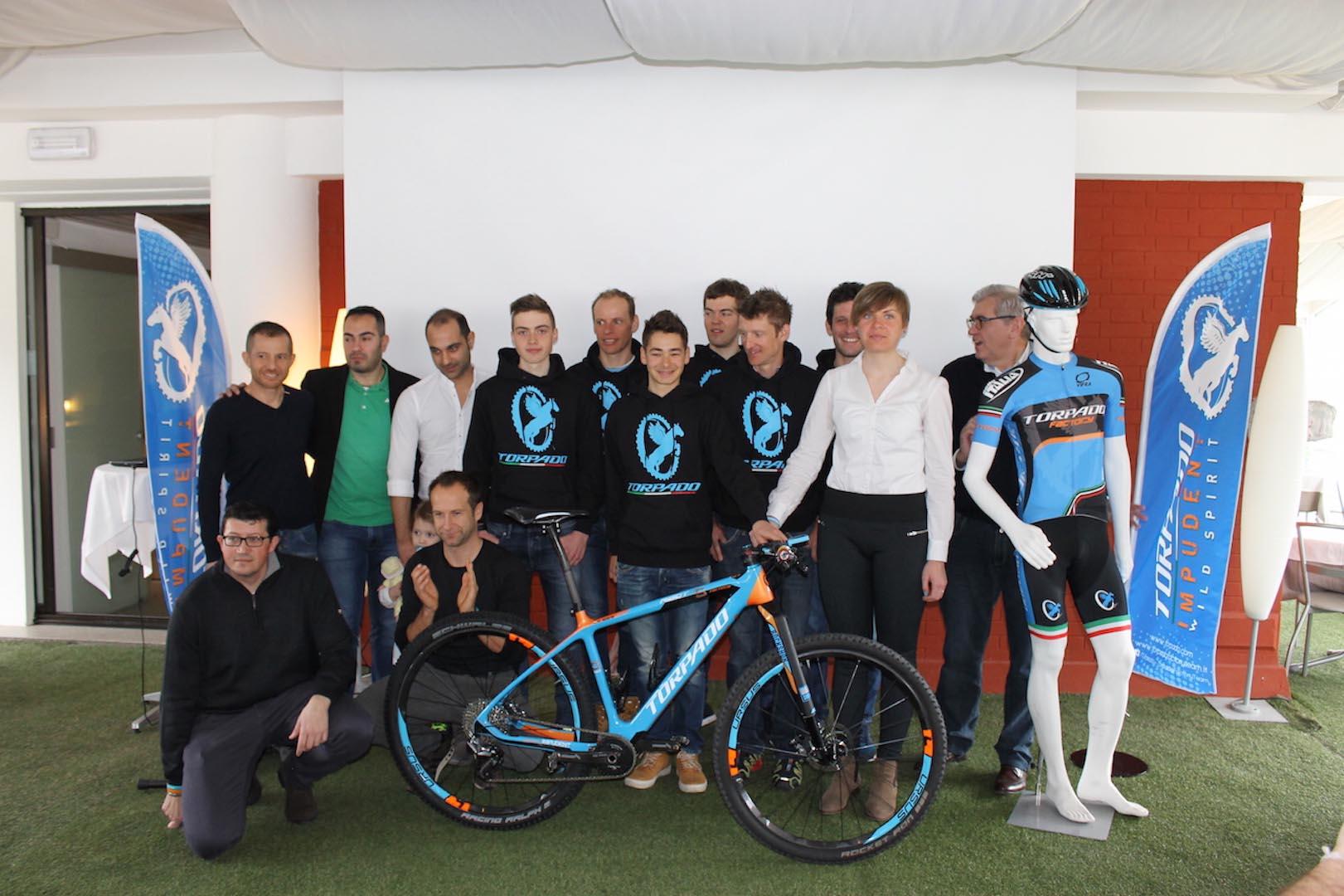 Torpado Factory Team 2016 atleti e staff