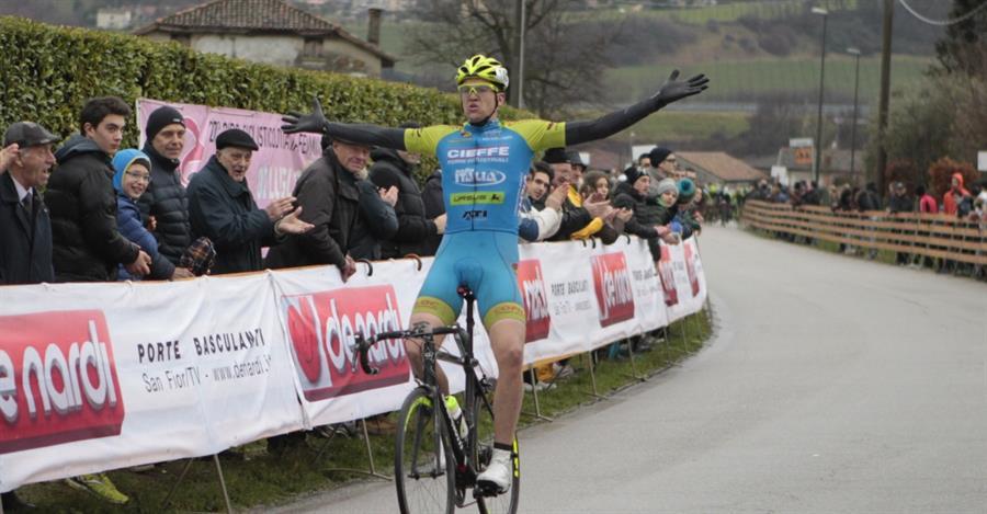 Edoardo Affini vince il Gp De Nardi 2016