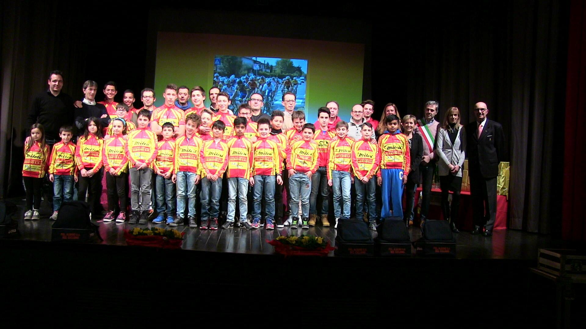 Pol. Albano Ciclismo, tutto il gruppo 2016