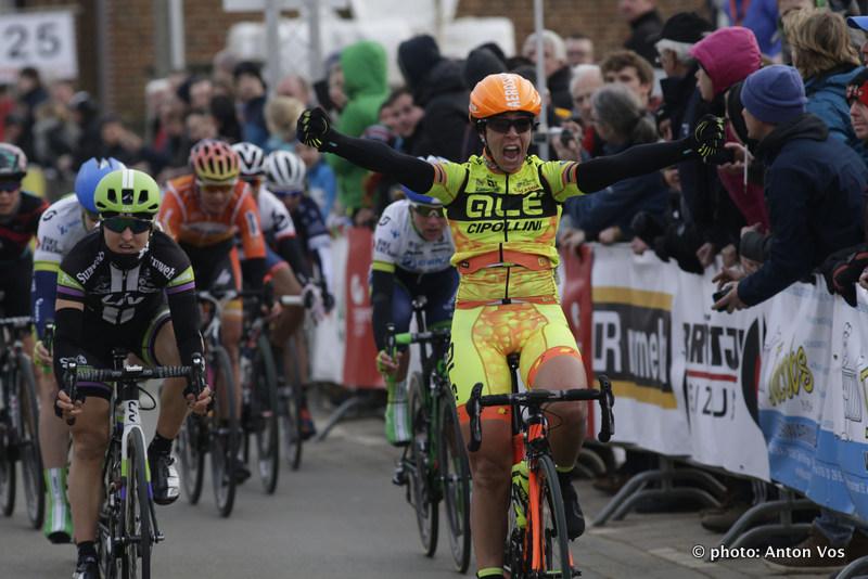 Lo sprint vincente di Marta Bastianelli