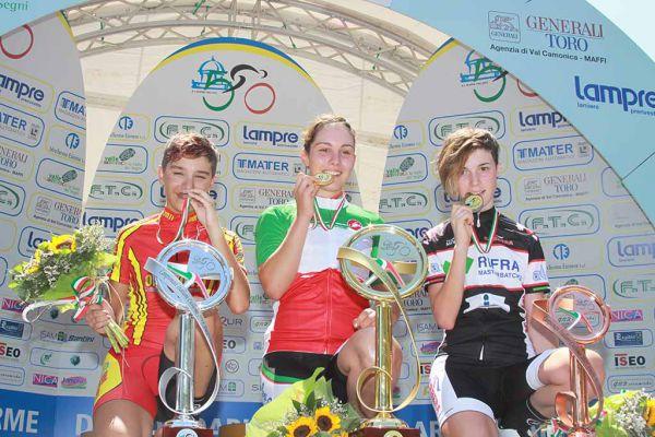 boario donne eso 1 podio