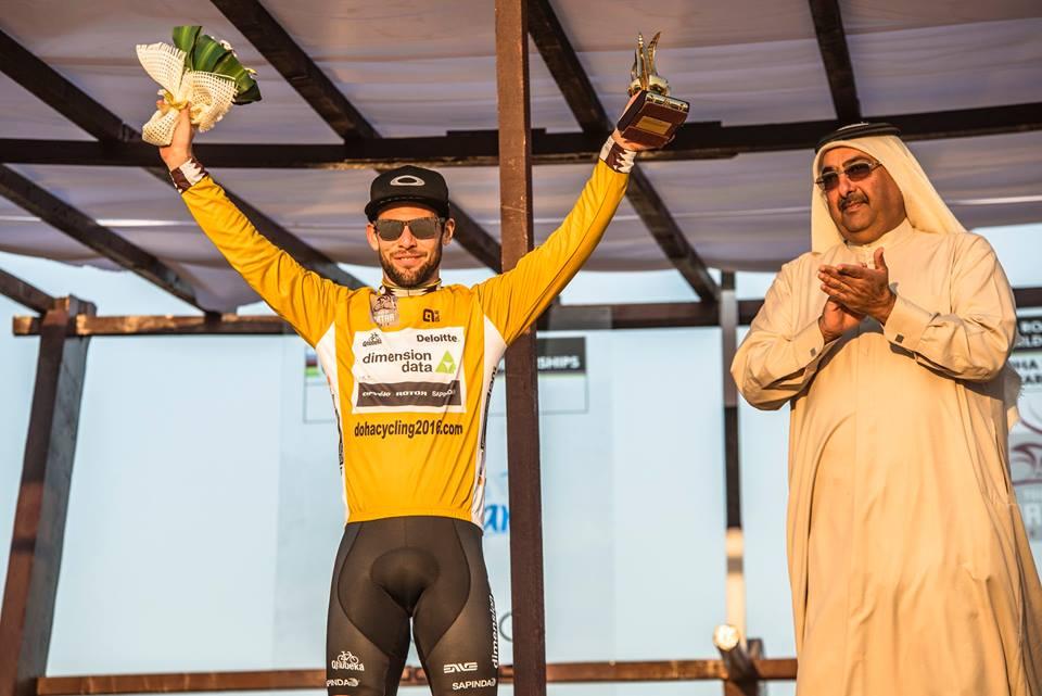 Mark Cavendish (Dimension Data) ha vinto il Tour of Qatar 2016
