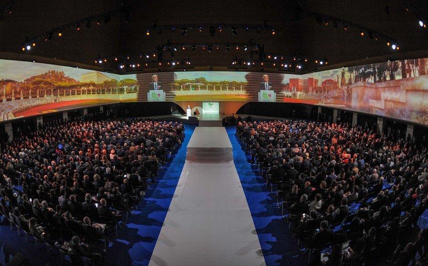 Nella splendida cornice del Palazzo dei Congressi è stata presentata la candidatura di Roma alle Olimpiadi del 2024