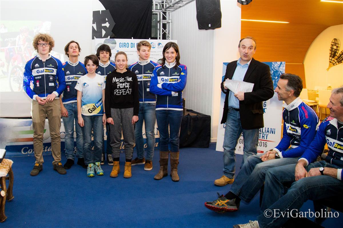 Presentazione delle squadre giovanili del Velo Club Courmayeur