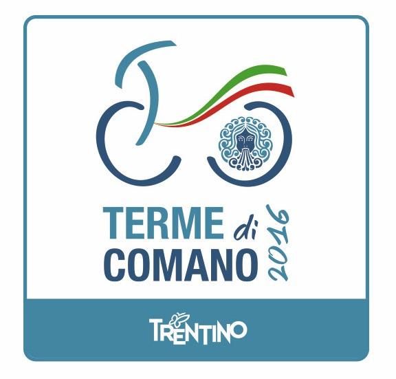 Il logo dei Campionati Italiani Giovanili 2016 di Comano Terme