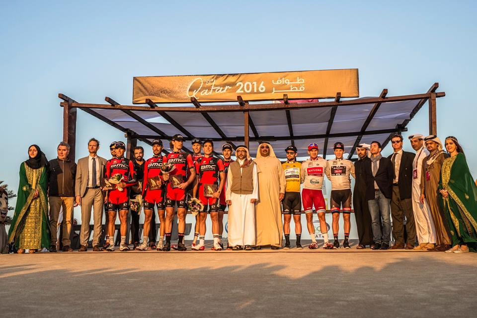 Le maglie del Tour of Qatar 2016