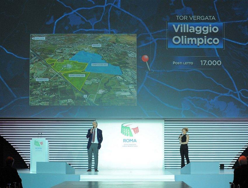 Candidatura di Roma alle olimpiadi del 2024, l'intervento del presidente del CONI Malagò