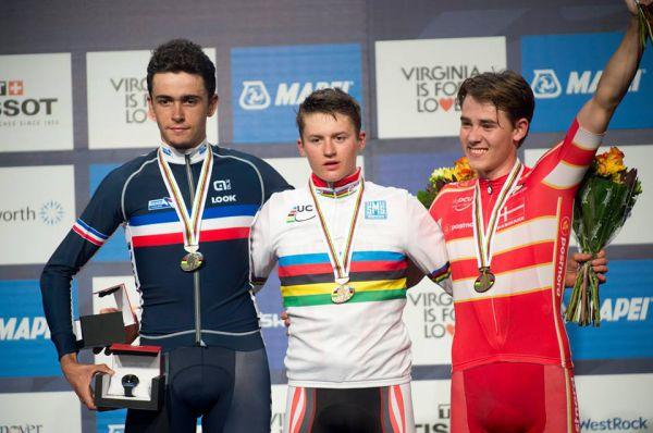 mondiali 2015 juniores podio
