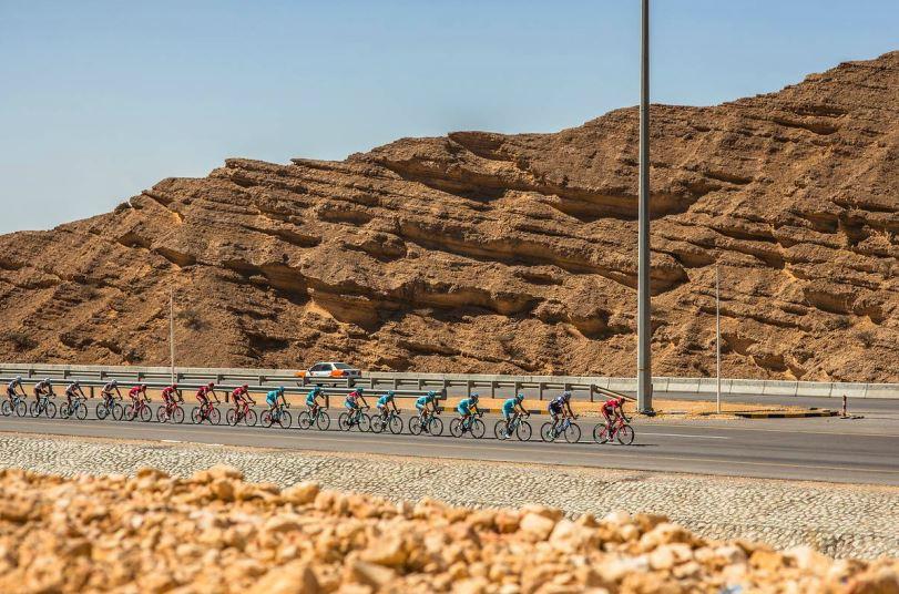 Tour of Oman, un momento dell'ultima tappa