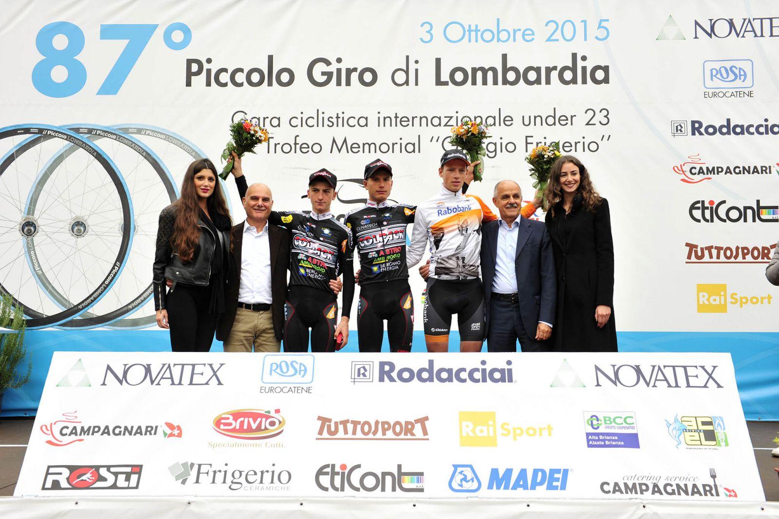 piccolo lombardia 2015 podio