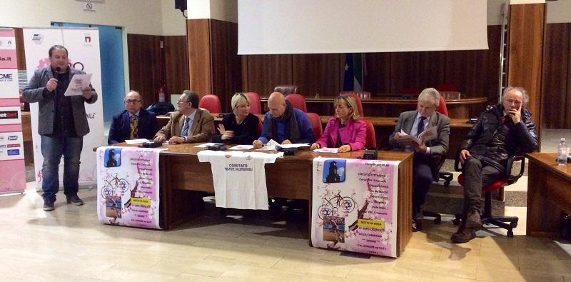 Presentazione Giro della Campania in Rosa 2016