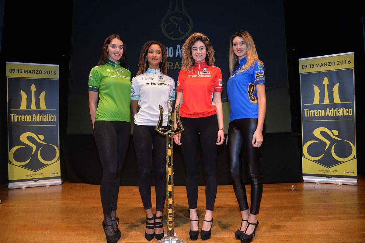 Le maglie della Tirreno-Adriatico 2016