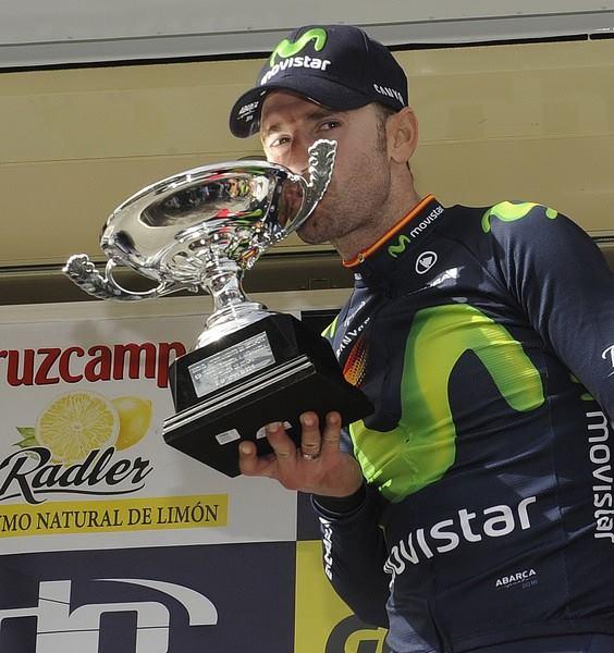 Valverde felice per la prima vittoria dell'anno