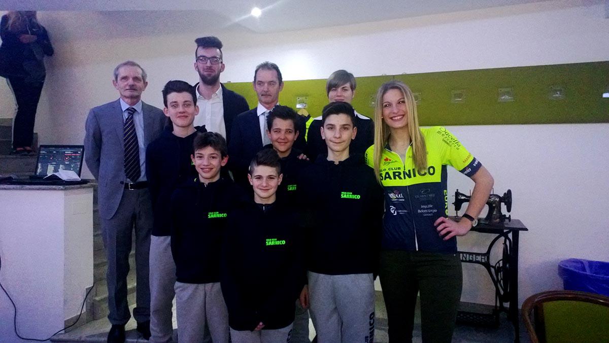 Velo Club Sarnico, la squadra Esordienti 2016