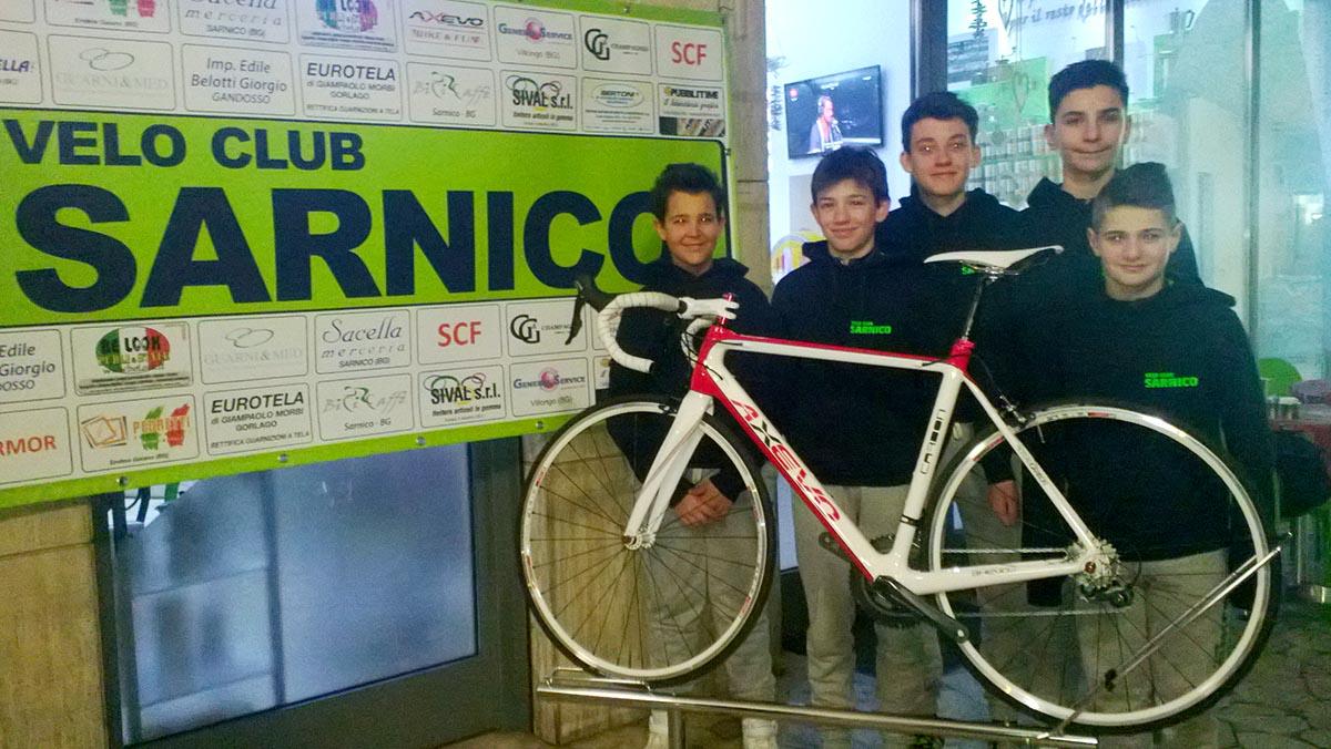 Velo Club Sarnico, squadra Esordienti 2016