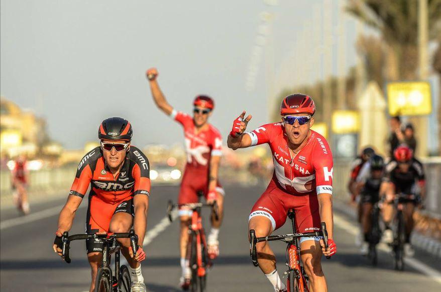 Alexander Kristoff (Katusha) vince la quarta tappa del Tour of Qatar