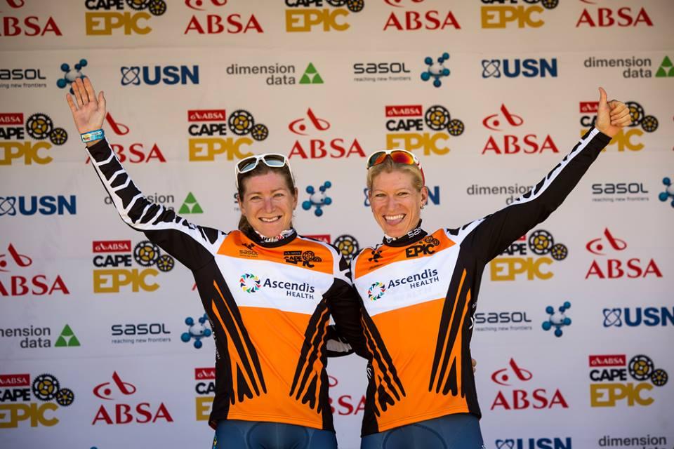 Robyn de Groot e Jennie Stenerhag sul podio femminile