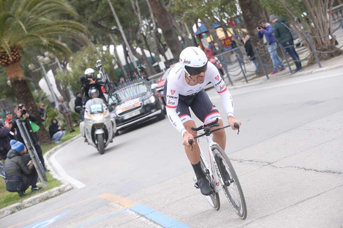 Fabian Cancellara (Trek-Segafredo) in azione