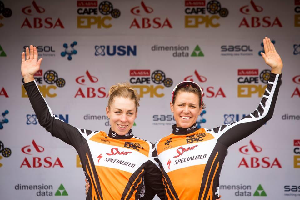 Annika Langvad e Ariane Kleinhans sul podio femminile