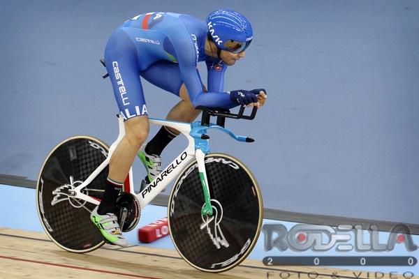 Filippo Ganna in azione