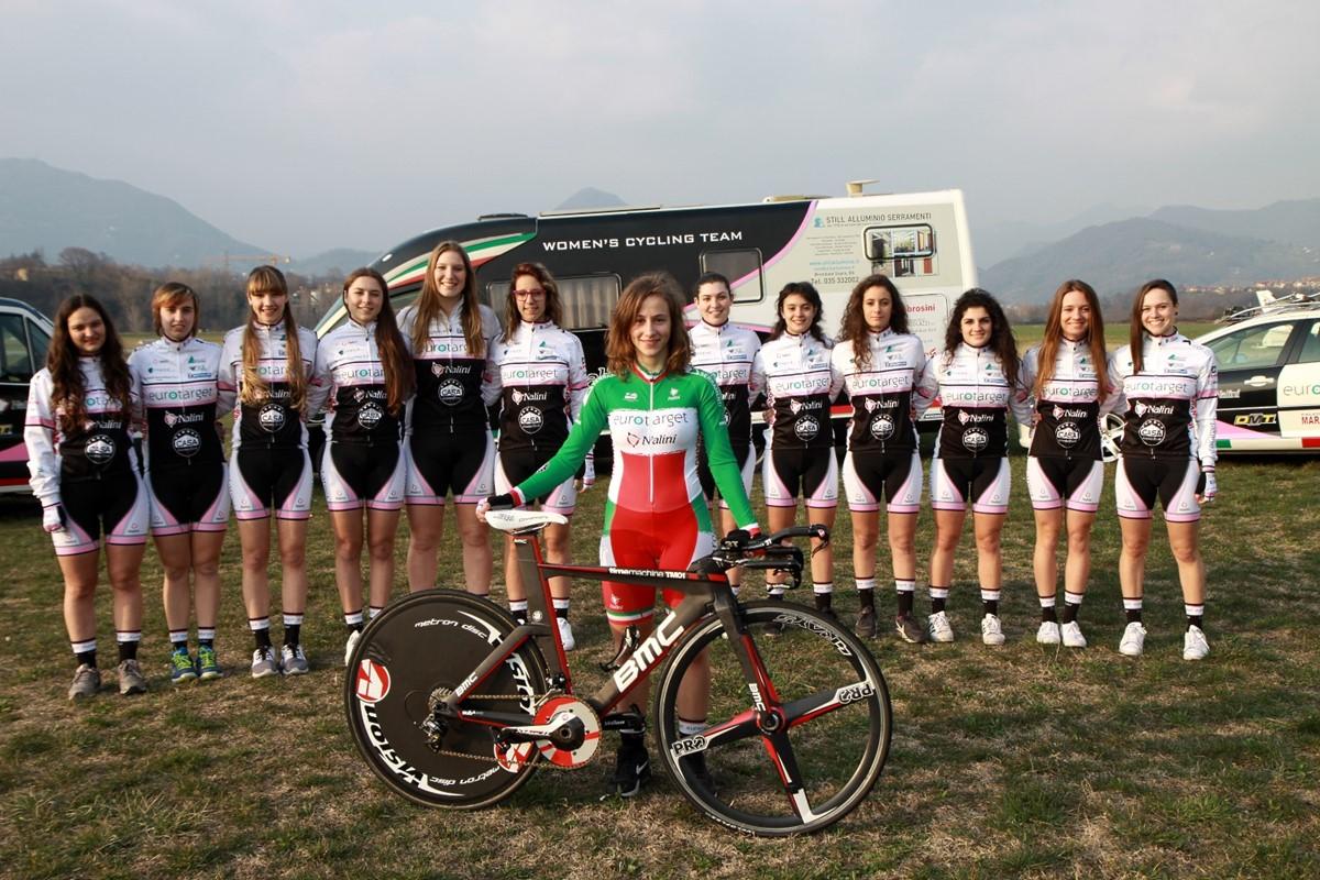L'Eurotarget Nalini Still Bike 2016, in primo piano la campionessa italiano a cronometro Lisa Morzenti