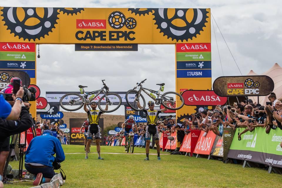 Karl Platt e Urs Huber (Bulls) vincitori della Cape Epic 2016