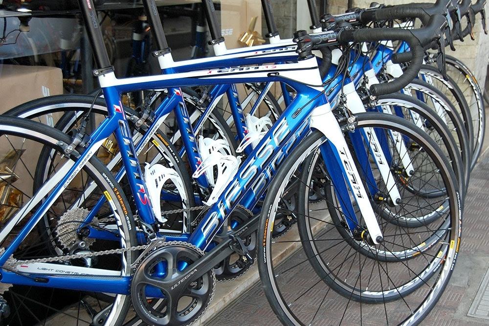 Le bici utilizzate dai ragazzi della Coppi Gazzera-Videa (foto Photo@Coppola)
