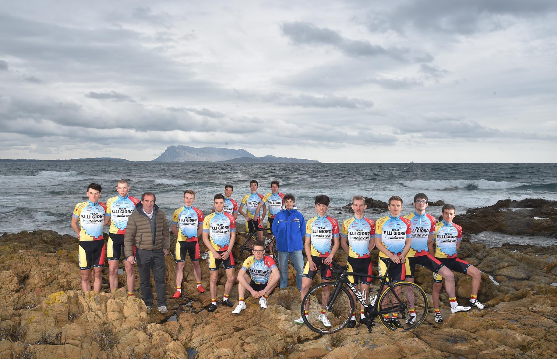 Inizia dalla Sardegna la stagione 2016 del Team Giorgi
