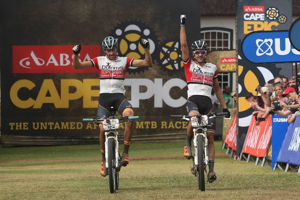 Tiago Jorge Ferreira Oliveira e Periklis Ilias vincitori della sesta tappa della Cape Epic
