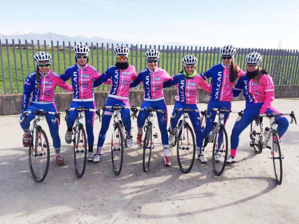 La squadra Donne Allieve della Valcar - PBM