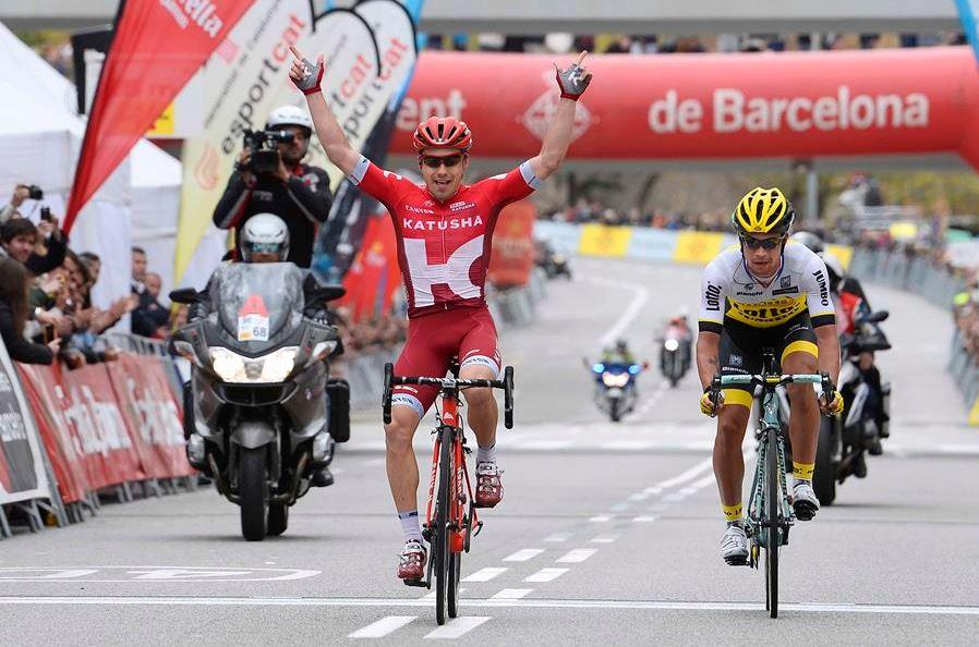 Aleksei Tsatevich (Team Katusha) vince l'ultima tappa della Volta a Catalunya