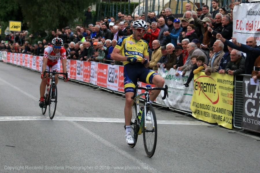 La vittoria di Paolo Baccio a Mercatale Valdarno
