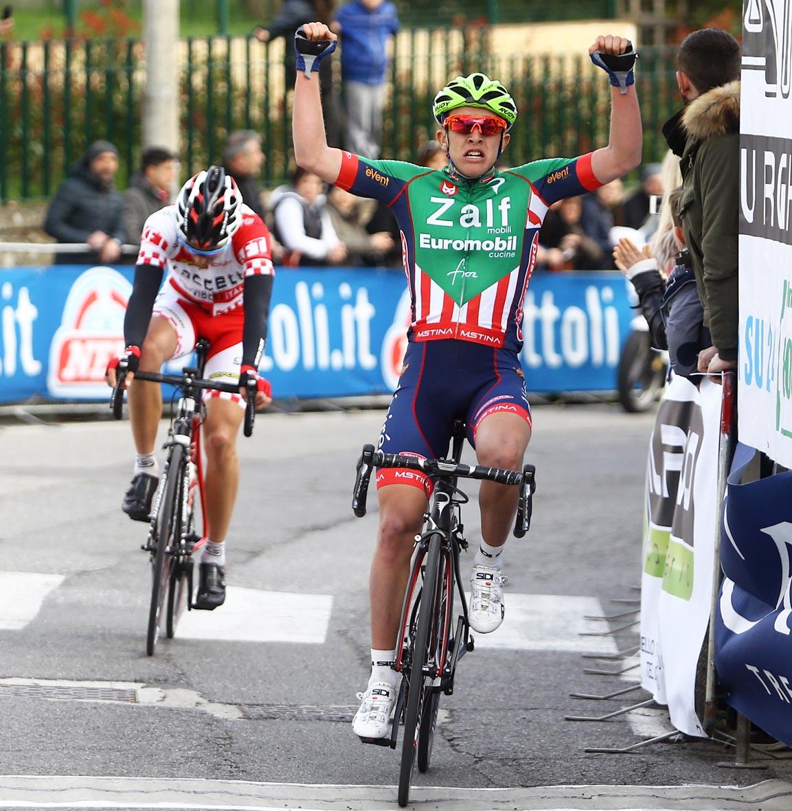 Nicola Bagioli vince il 1° Circuito del Compitese s S. Ginese (Lu)