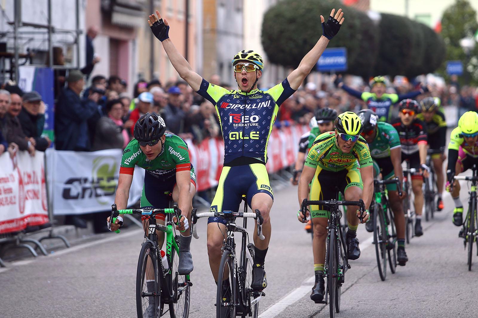 Leonardo Fedrigo vince a Bagnolo di Nogarole Rocca