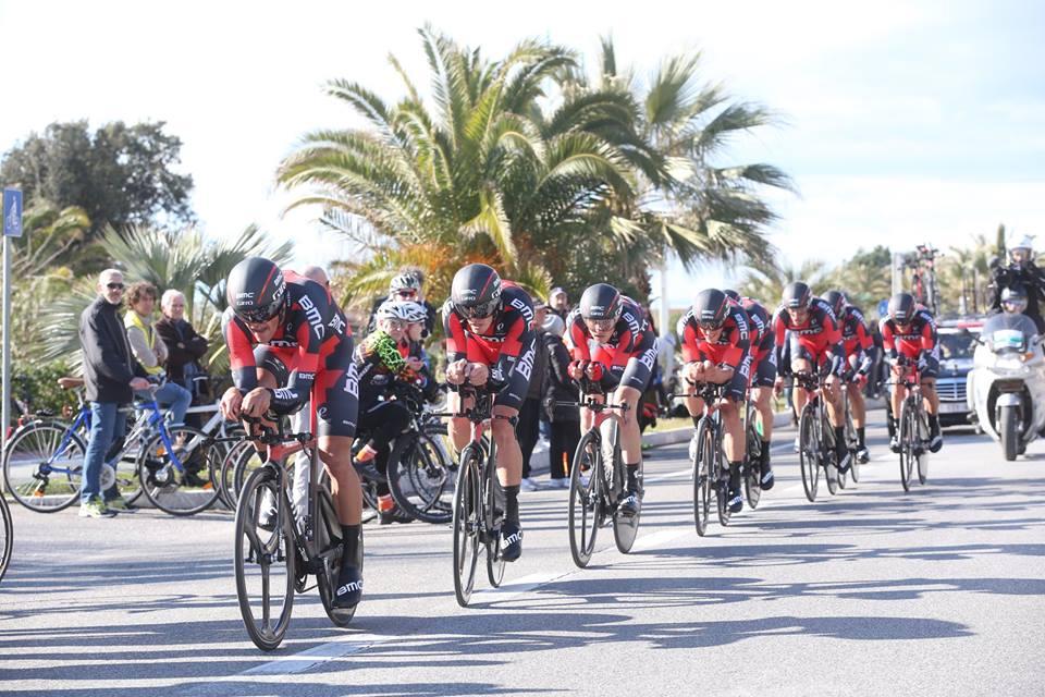 BMC Racing Team vincitori della cronosquadre della Tirreno-Adriatico