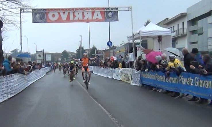 La vittoria di Giorgio Cometti (Sc Romanese) nella prima gara ad Albano