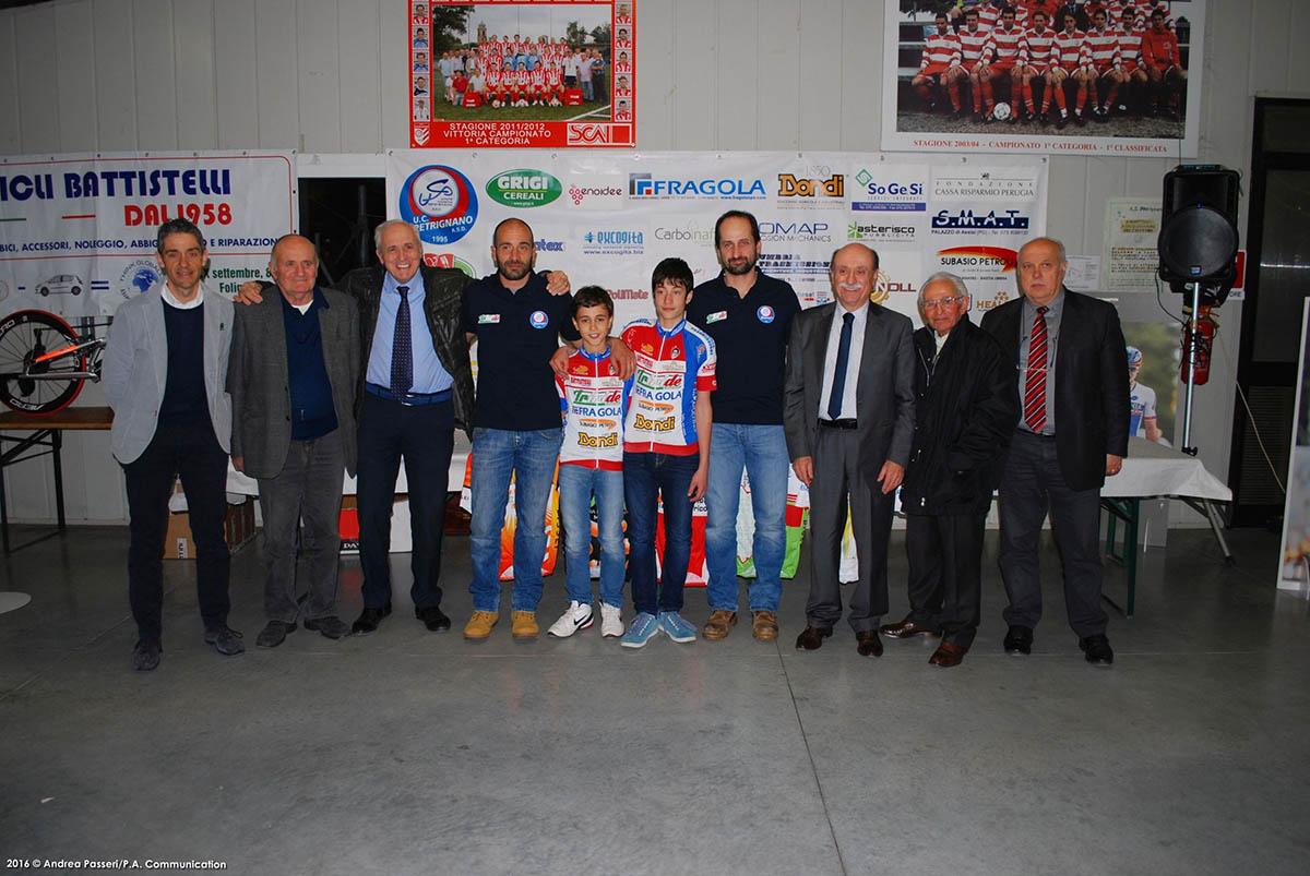 Presentazione Uc Petrignano. la squadra Esordienti 2016