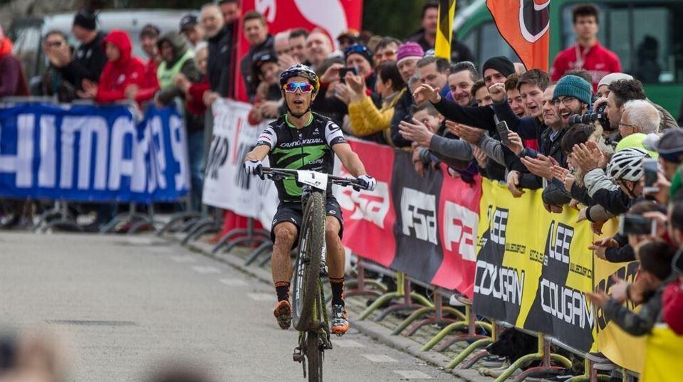 Marco Aurelio Fontana vince a Maser