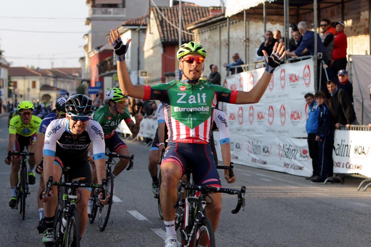 Michael Bresciani vince il Memorial Mantovani a Sorgà
